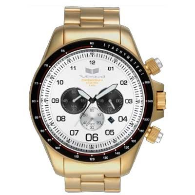 ZR3  Gold/Gold/White Watch ZEP008