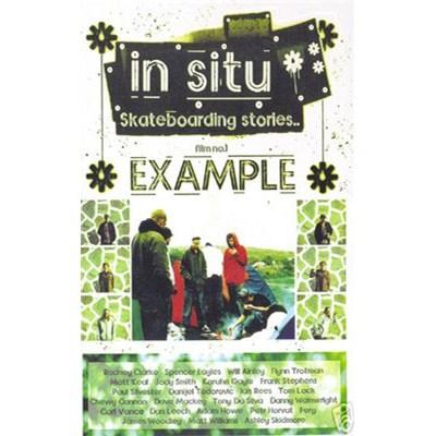 In Situ Skateboarding Stories Film No. 1 - Example DVD