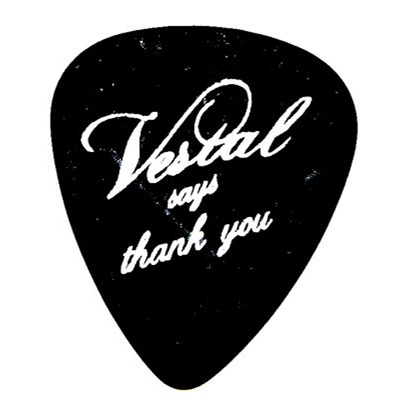 Vestal Says... Plectrum