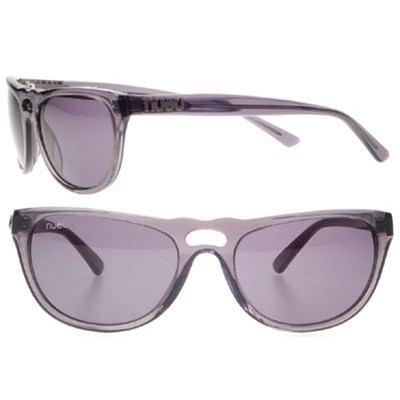 NU707010 Transparent Silver Sunglasses