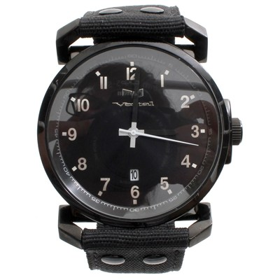 Observer Black Gros Grain/Black/Black (Ex Display) Mens Watch OBR012