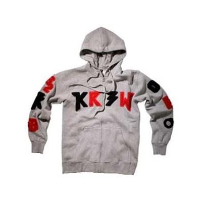 TK Lettered Zip Hoody