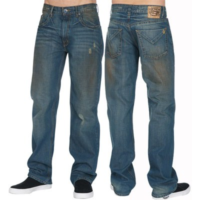 Modern Beat To Hell Wash Jeans