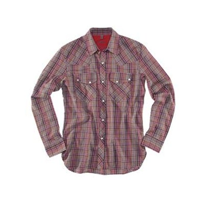 Plaid Red L/S Shirt