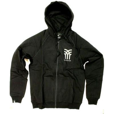 Icon Black Zip Hoody