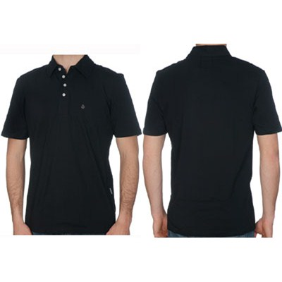Shoe In Youths S/S Polo Shirt - Black