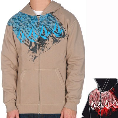 Crumpled Youths Zip Hoody