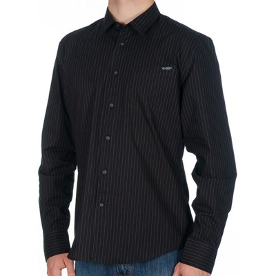 XYZ Stripe L/S Shirt - Black/Green