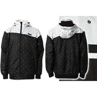 Polka Windbreaker Jacket