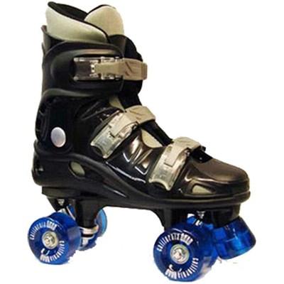 Image of California Pro VT06 Kids Black Quad Roller Skates