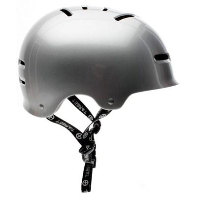 v2 Metallic Silver Helmet