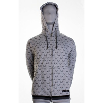 All-Over Wings Zipper Hoody