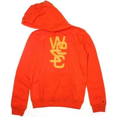 Overlay Hot Orange Girls Hoody