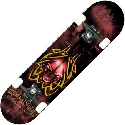 B Series Tribal Skull Complete Skateboard