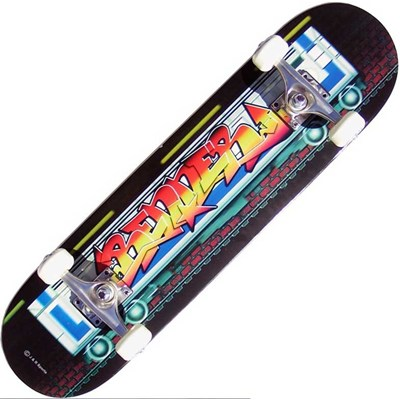 B Series Graffiti On The Tube Complete Skateboard