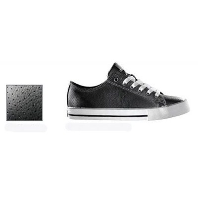 The Classic Black Perf Leather Shoe