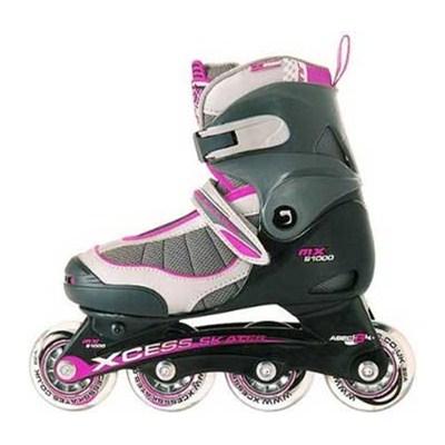 MX-S1000 Lilac/Grey Childrens Inline Skate