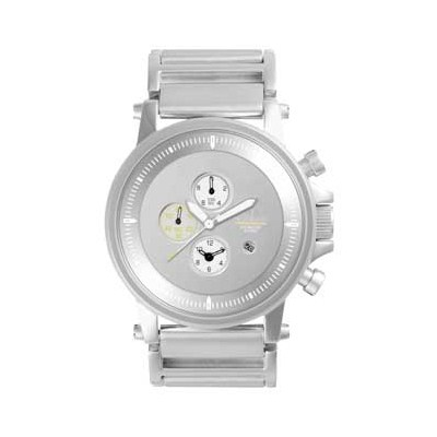 Plexi Polished Silver/Silver Silver/Mirror Men's Watch PLE023