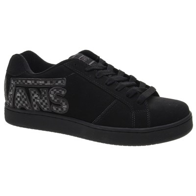 Widow (Checkervans) Black/Black Kids Shoe DE33UB
