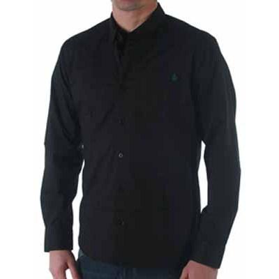 Y Factor L/S Black Shirt