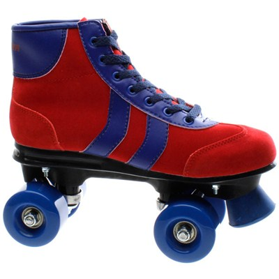 Blazer 2 Stripe Red/Blue Kids Quad Roller Skates