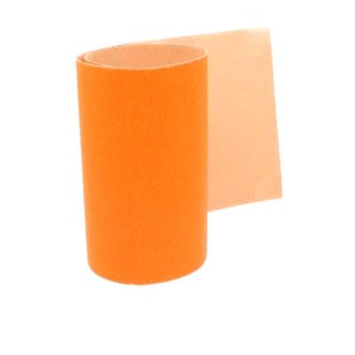 Plain Orange Skateboard Griptape