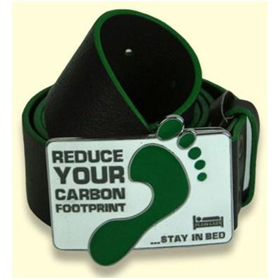 Carbon Footprint Leather Belt