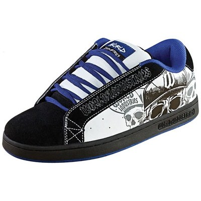 Smith LE Black/White Brim Kids Shoe