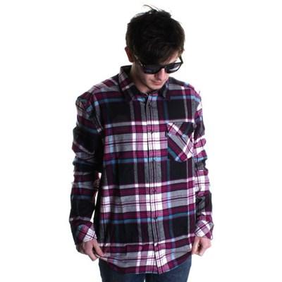 Abdon Flannel L/S Shirt - Black