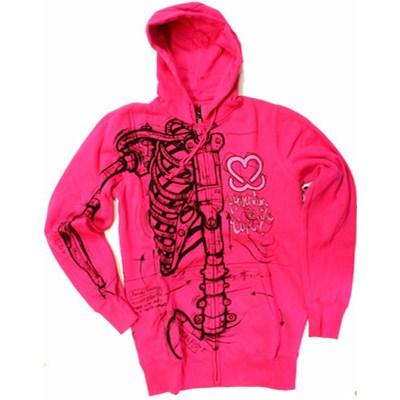 Robo Wishbone Keep-A-Breast Zip Hoody