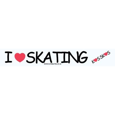 Skate Sticker Tape 'I Love Skating'