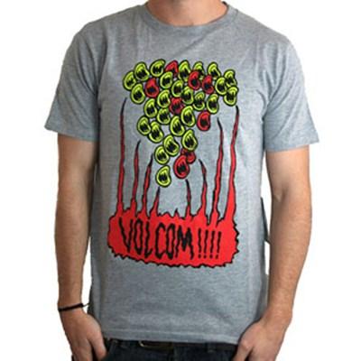Santi FA Slim S/S T-Shirt - Grey Melange
