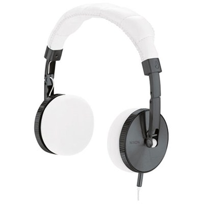 Nomadic White Headphones
