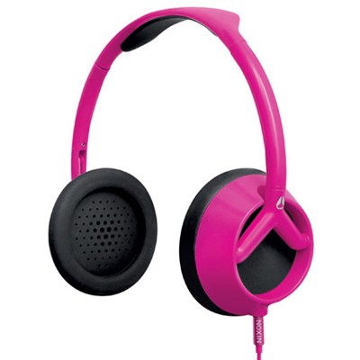 Trooper Headphones - Magenta/Black