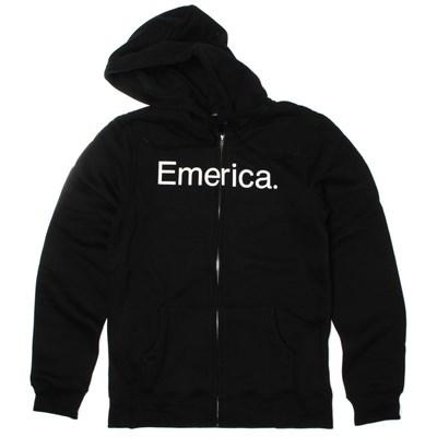 Pure 10 Black Zip Hoody