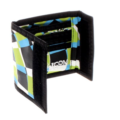 Full Stone Lime Bifold Cloth Wallet