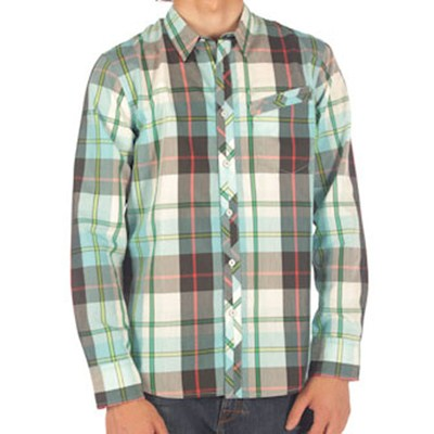 Tip Top Plaid Sky Blue L/S Shirt