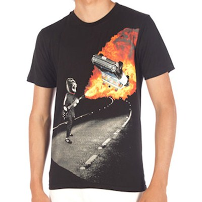 Gar Wood FA Slim S/S T-Shirt - Black
