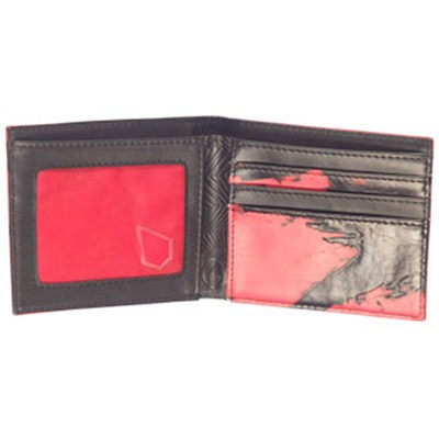 Collage Red Leather Wallet