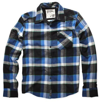 Warped L/S Flannel Shirt