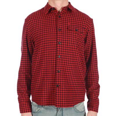 Flash Black/Red L/S Shirt
