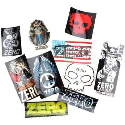 Zero Sticker Pack