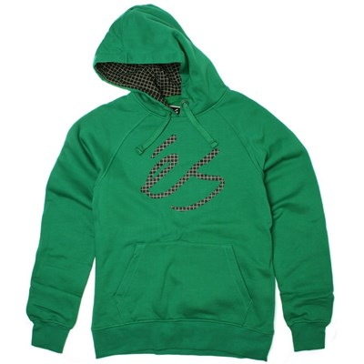 Script Fill Kelly Green Hoody