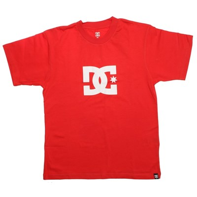 Star Primary Red S/S Kids Tee