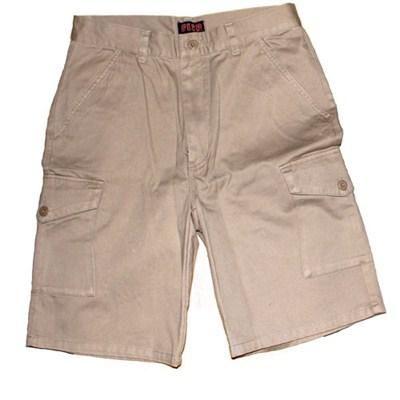 Khaki Combat Shorts