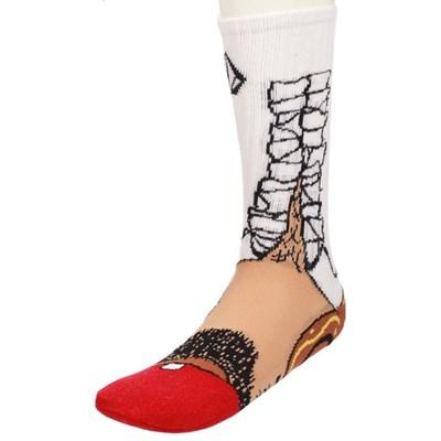 Bandito Sock Puppet Socks - White