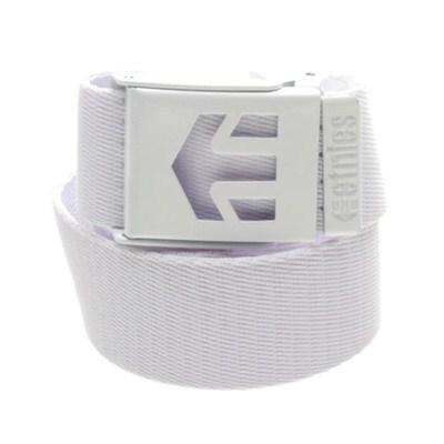 Staple White/White Web Belt