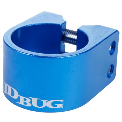 Pro Series Blue Double Collar Scooter Clamp