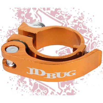 Pro Series Orange Quick Release Scooter Clamp