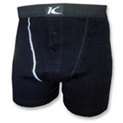 Krest Black Boxer Shorts